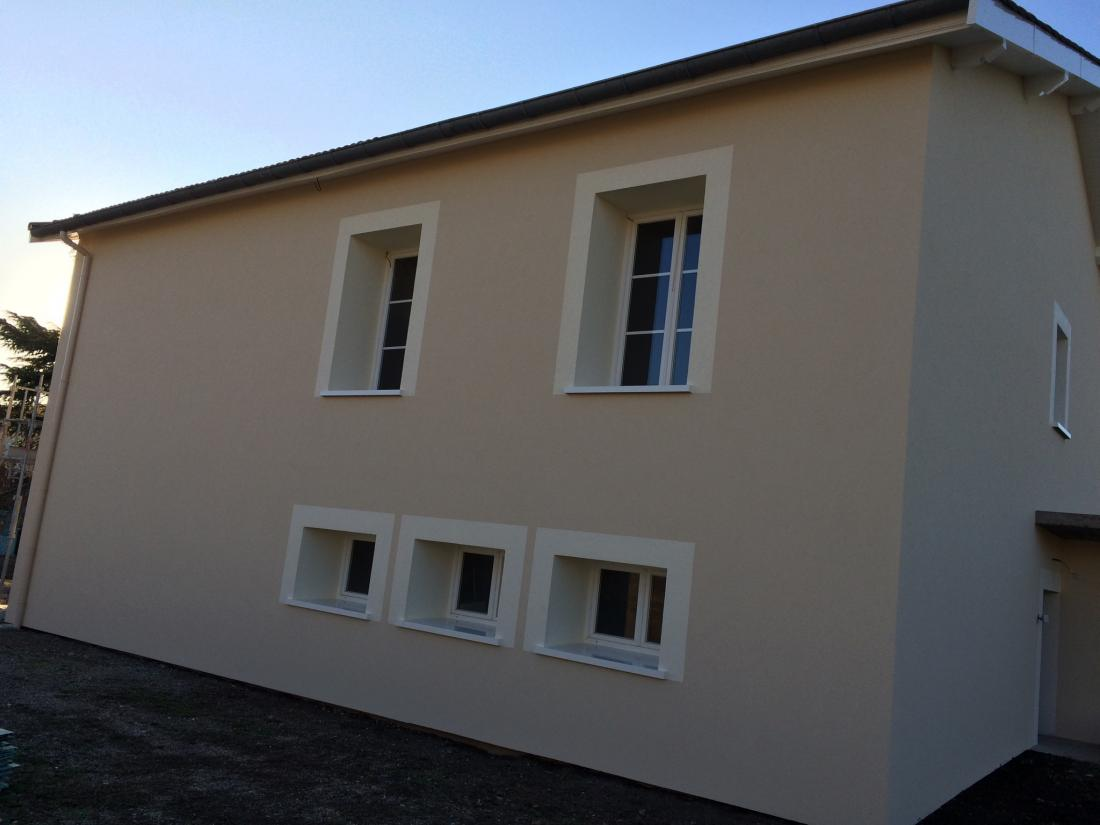 Isolation par l 39 ext rieur ite sur maison des ann e 60 for Isolation facade exterieur